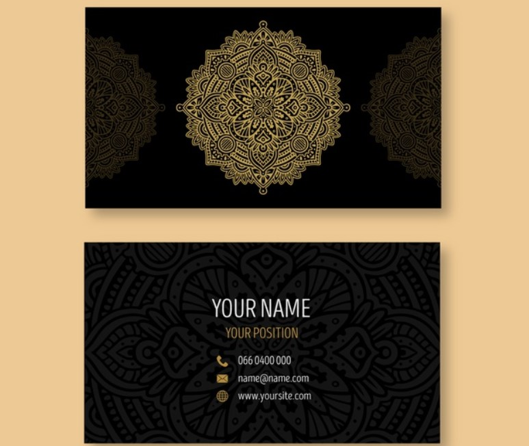 Guide Business Card Template New Design and Dimmensions